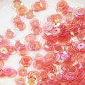 Sequins, Burgandy, Diameter 6mm, 400 pieces, 5g, Faceted Discs, Sequins are shiny, [CZP490]